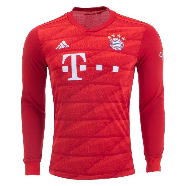 Bayern-Munich-Home-Long-Sleeve-Football-Shirt-19-20