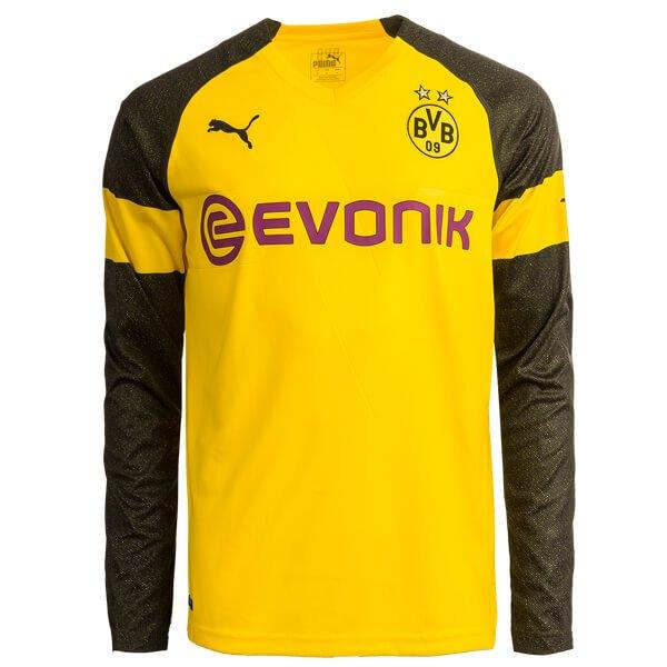 Borussia-Dortmund-Home-Long-Sleeve-Football-Shirt-1819